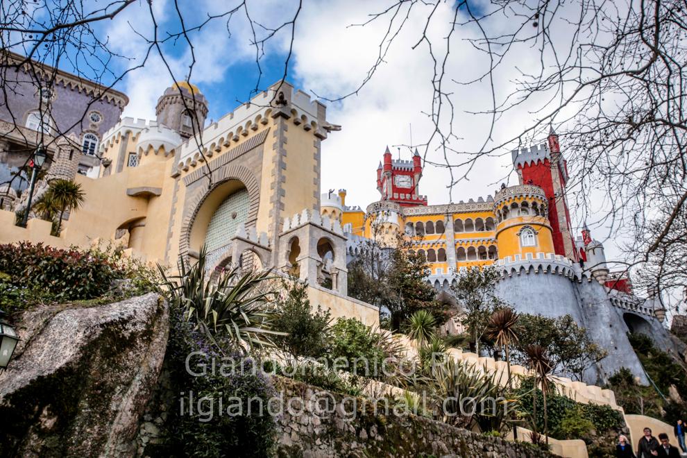 Palacio Nacional da Pena a Sintra