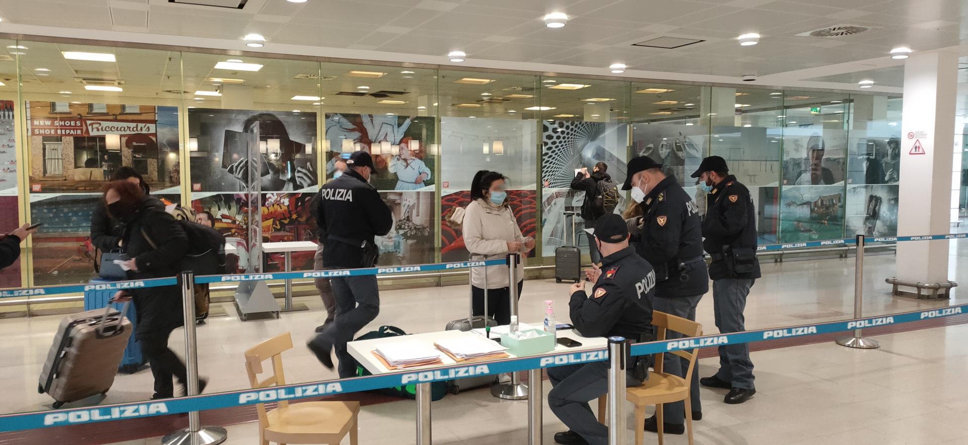 7.462 persone controllate dalla Polizia Ferroviaria durante le feste natalizie in FVG