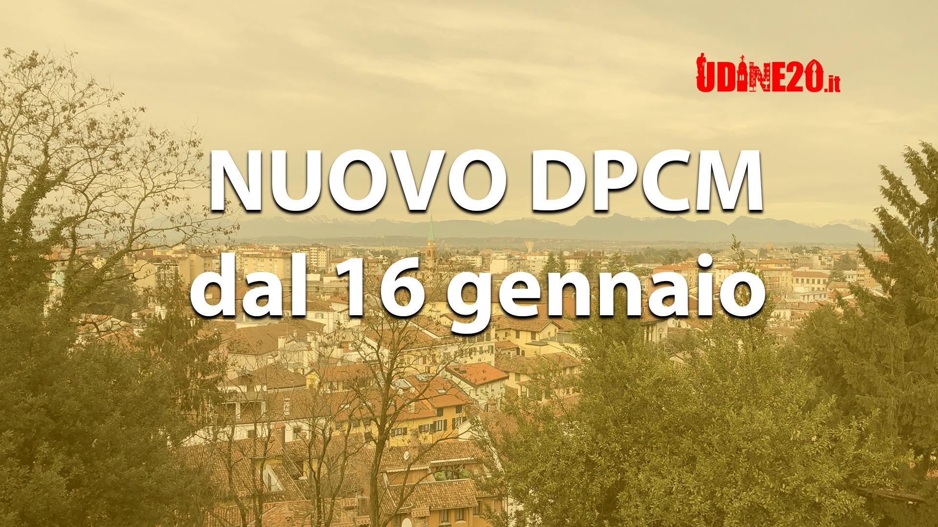 Nuovo DPCM dal 16 gennaio. Si a spostamenti verso seconda casa