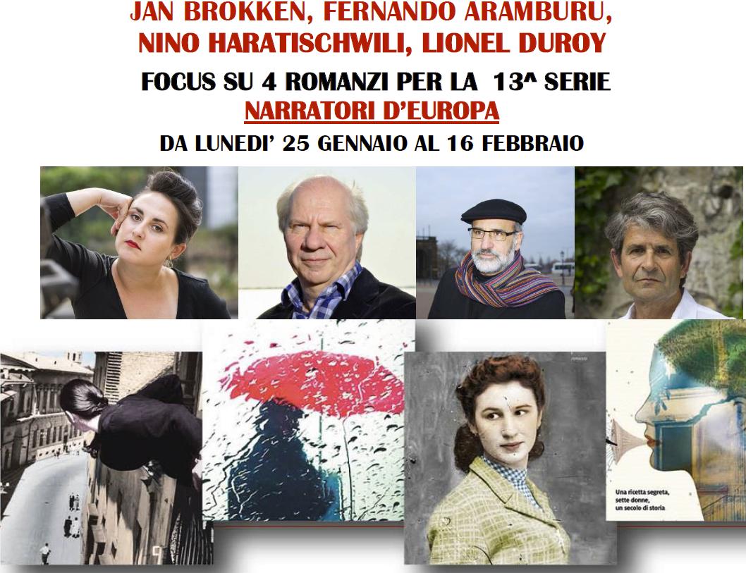 Narratori d'Europa dal 25 gennaio al 16 febbraio 2021