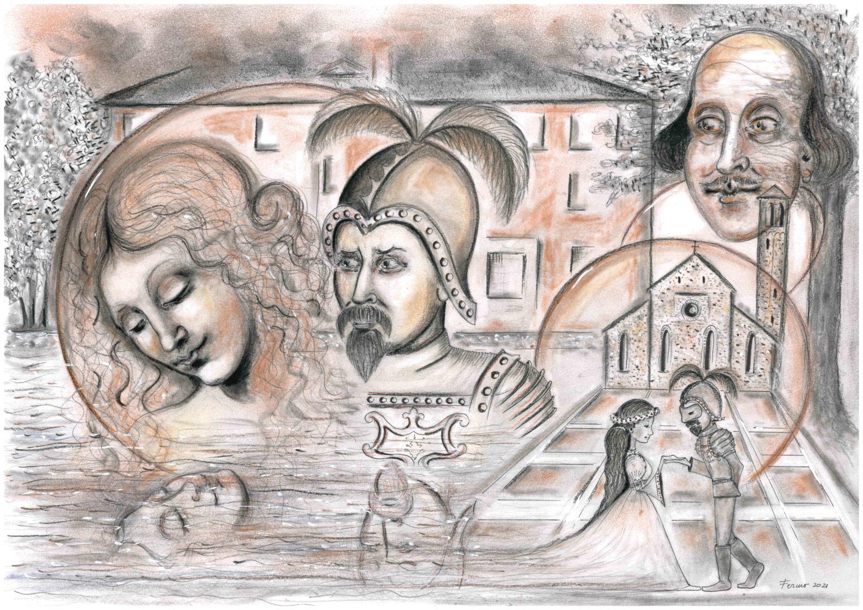 510 anni fa a Udine si innamorarono i protagonisti della celebre storia d'amore di Shakespeare