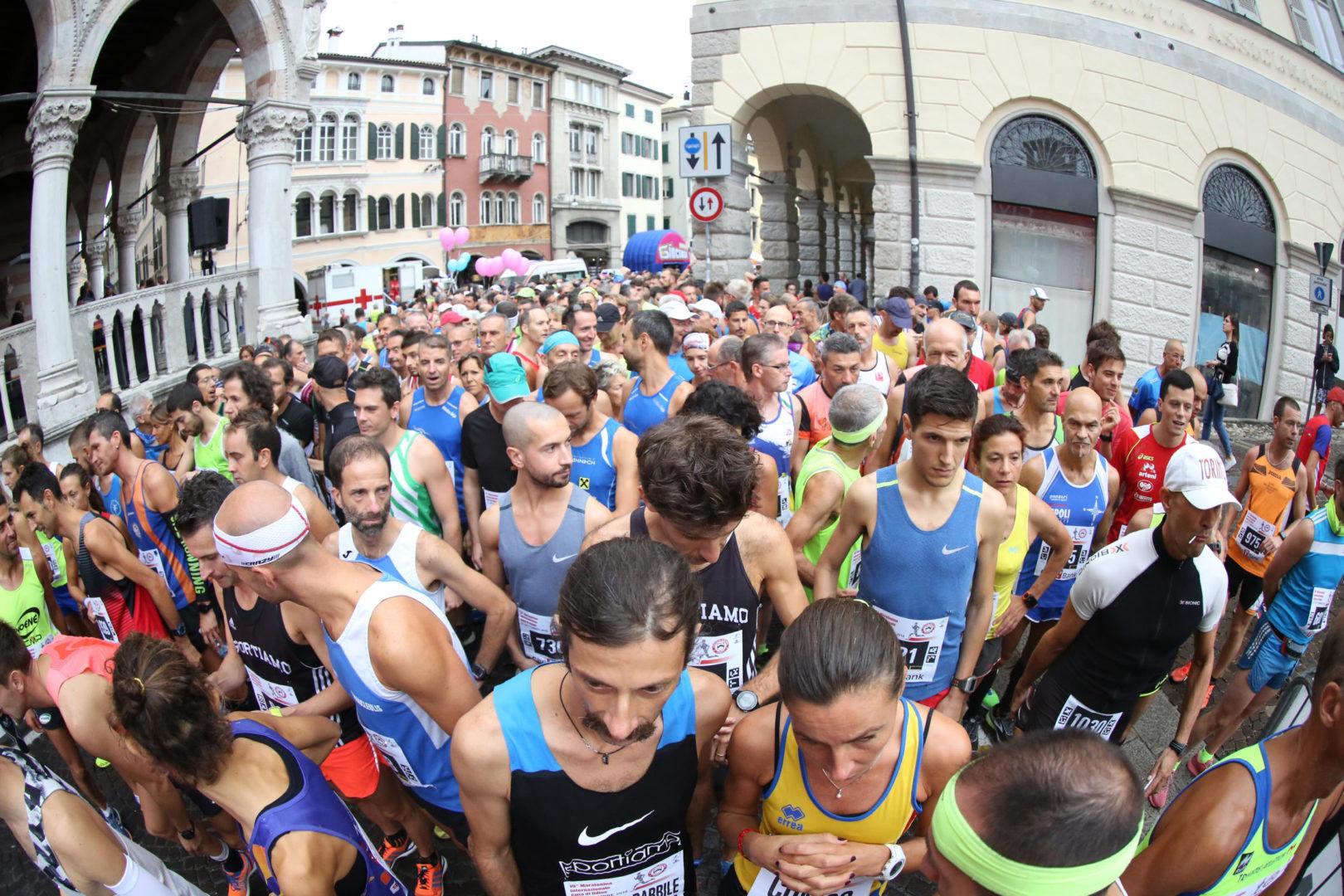 Maratonina Città di Udine, sale a 1000 il tetto dei partecipanti. Lunedì 17 maggio iscrizioni al via