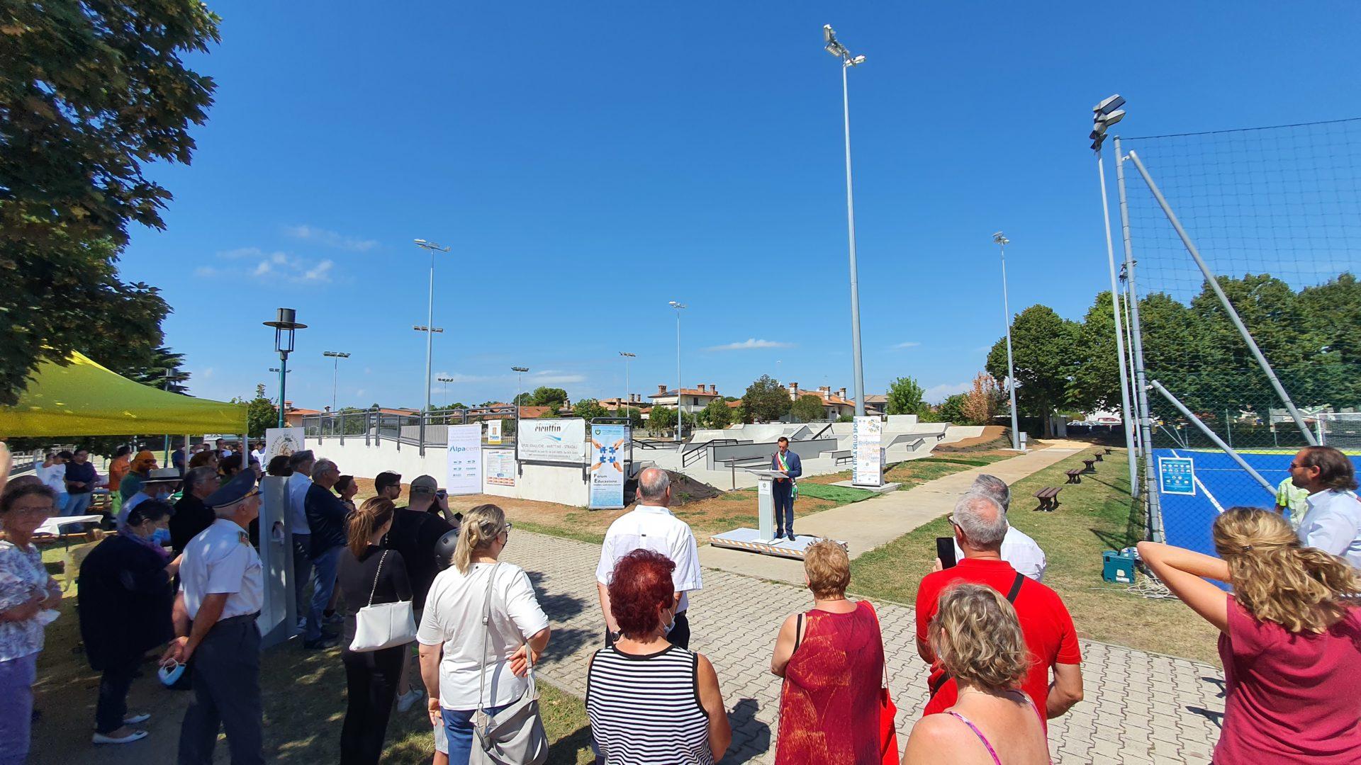 Inaugurato il nuovo Skate Park di Lignano Sabbiadoro