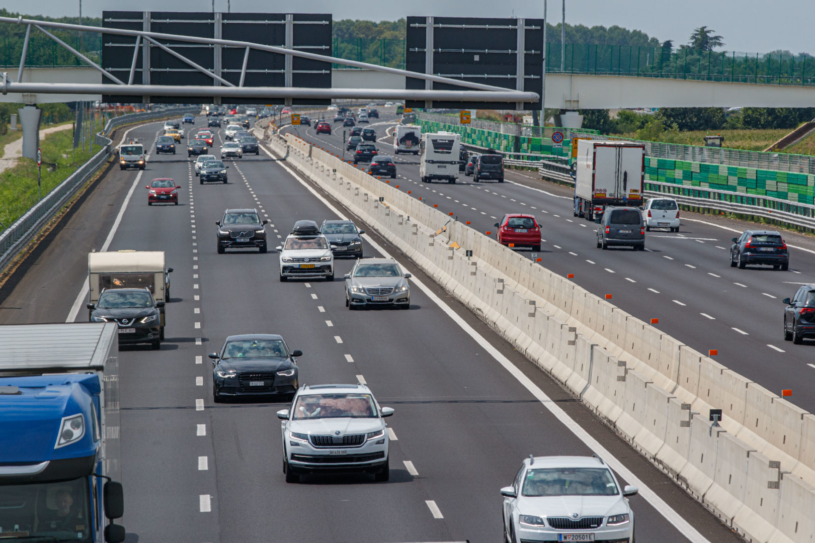 Autostrada: previsione di quasi 200 mila transiti sabato 07 agosto