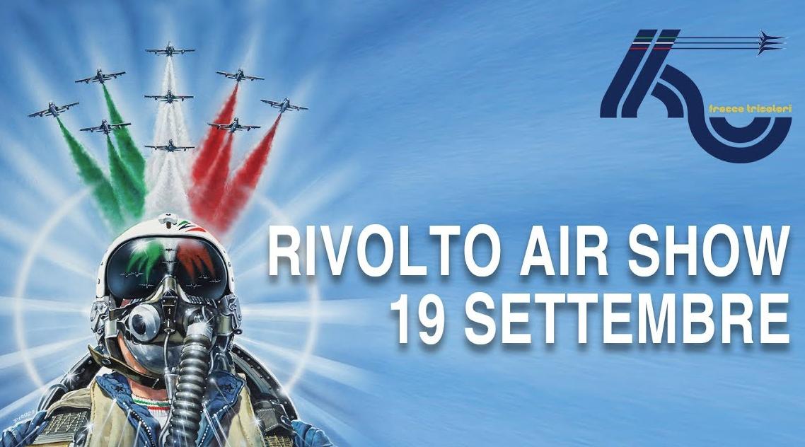 LIVE ORA da Rivolto, Air Show in diretta video domenica 19 settembre