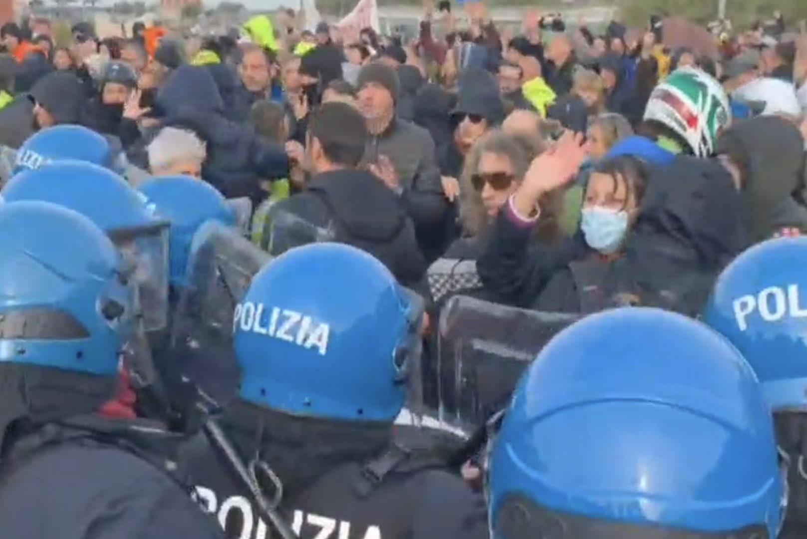 Sgombero del porto e protesta a Trieste. I fatti di lunedì