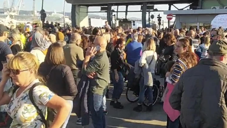 """Shaurli: """"porto Trieste presidiato da estranei """""""