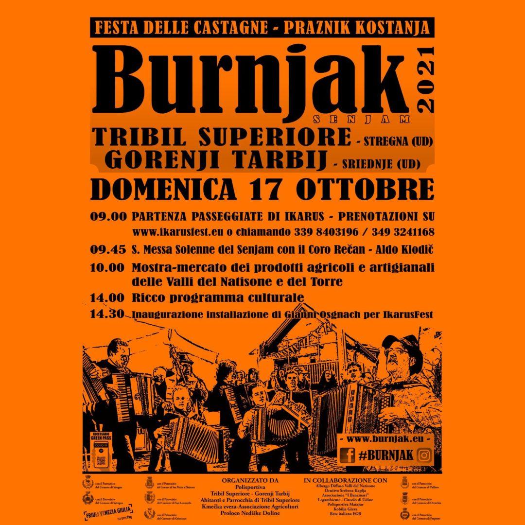 Festa delle Castagne domenica 17 ottobre a Tribil Superiore di Stregna